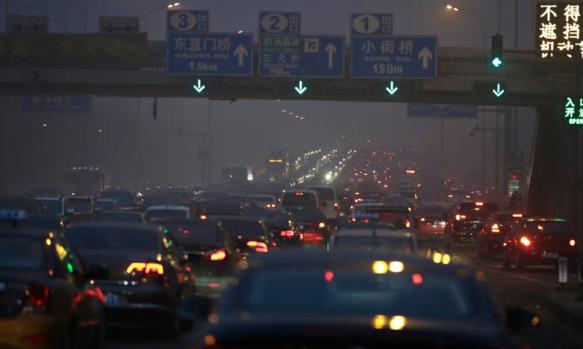 Beijing Air Pollution in Traffic